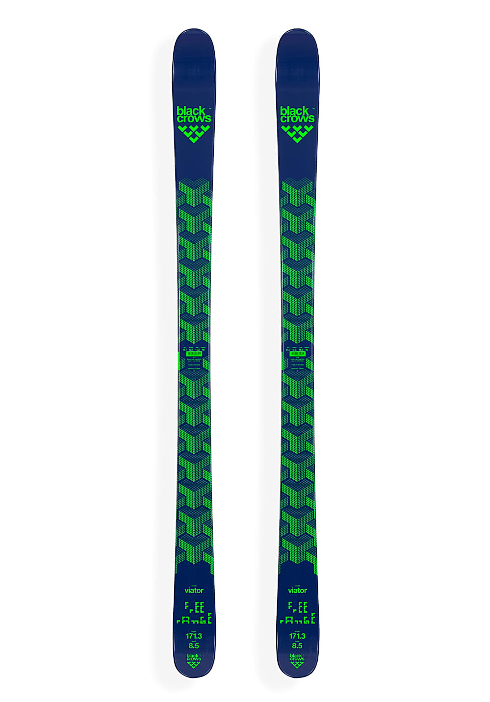Black Crows Viator 155cm Ski - Blau - OneSize