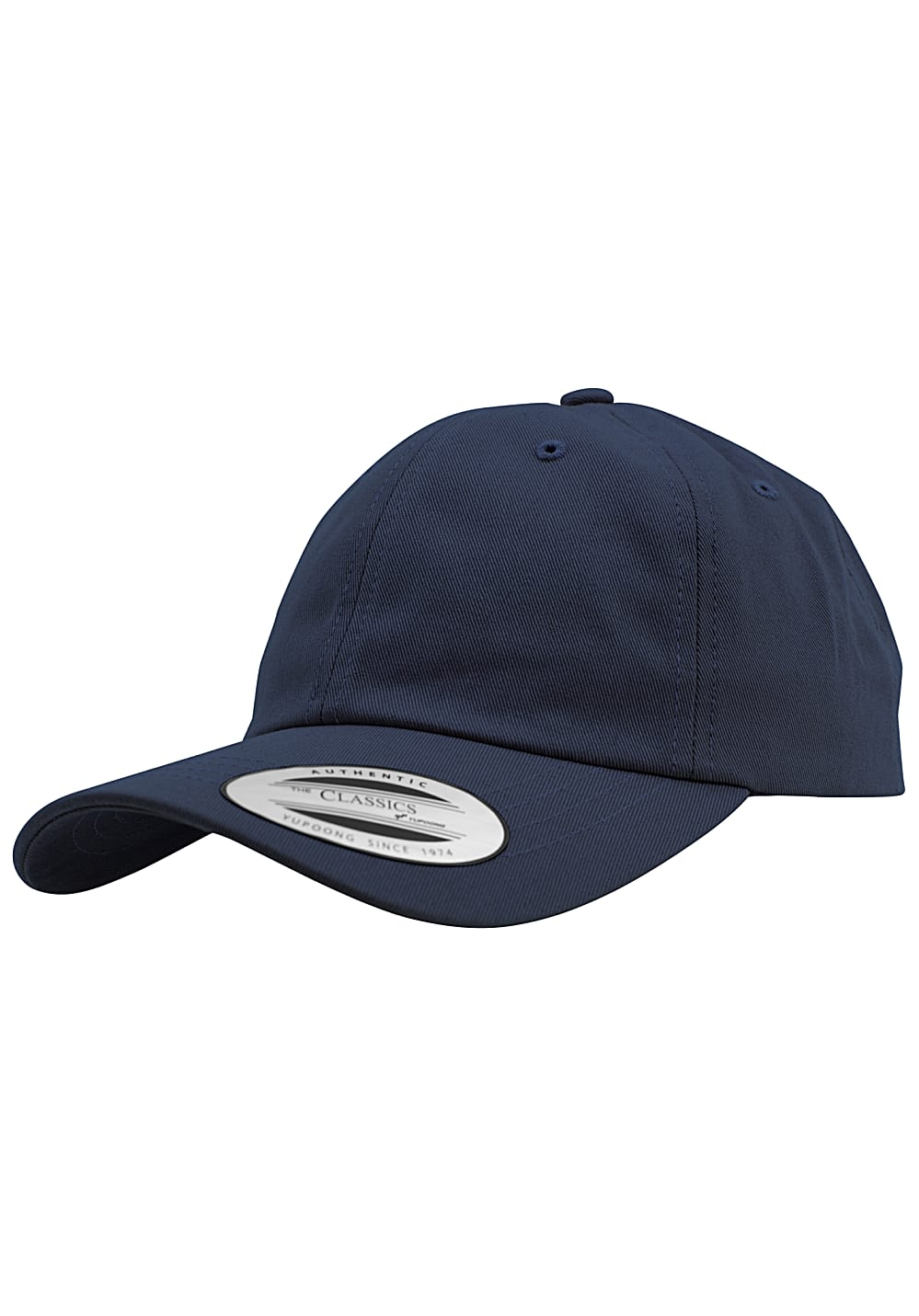 Flexfit Low Profile Cotton Twill Snapback Cap - Blau - OneSize