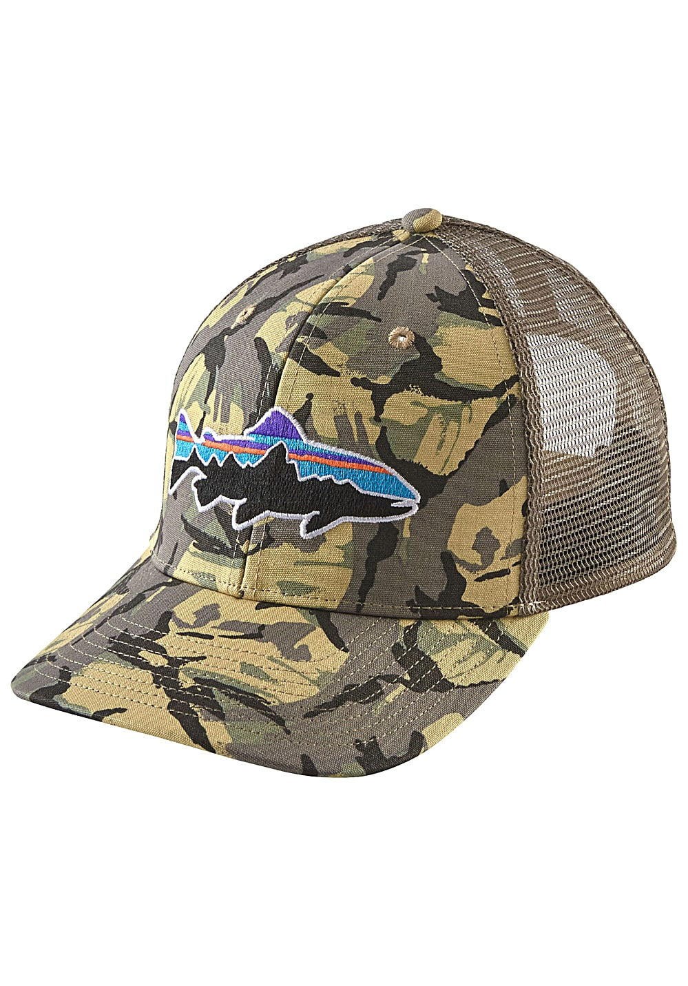 Patagonia Fitz Roy Trout Trucker Cap - Camouflage