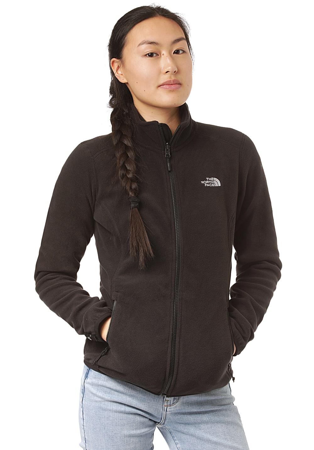 THE NORTH FACE 100 Glacier - Fleecejacke für Damen Schwarz