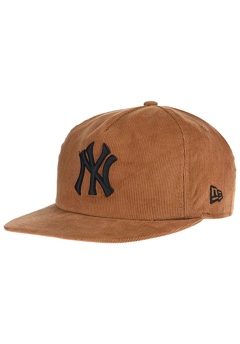 NEW Era MLB Coop Cord New York Yankees Co Snapback Cap - Braun - S/M