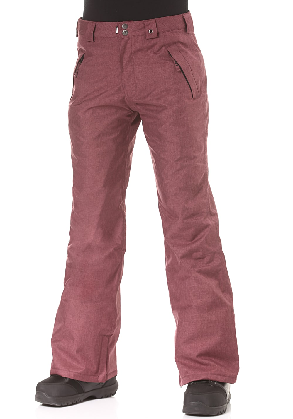 Hosen - Light Yoko Snowboardhose für Damen Rot  - Onlineshop Planet Sports