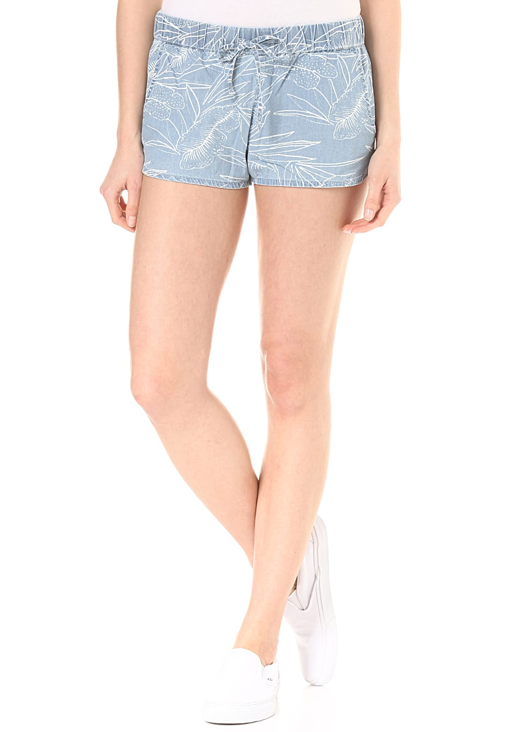Hosen für Frauen - Vans Janek II Denim Shorts für Damen Blau  - Onlineshop Planet Sports