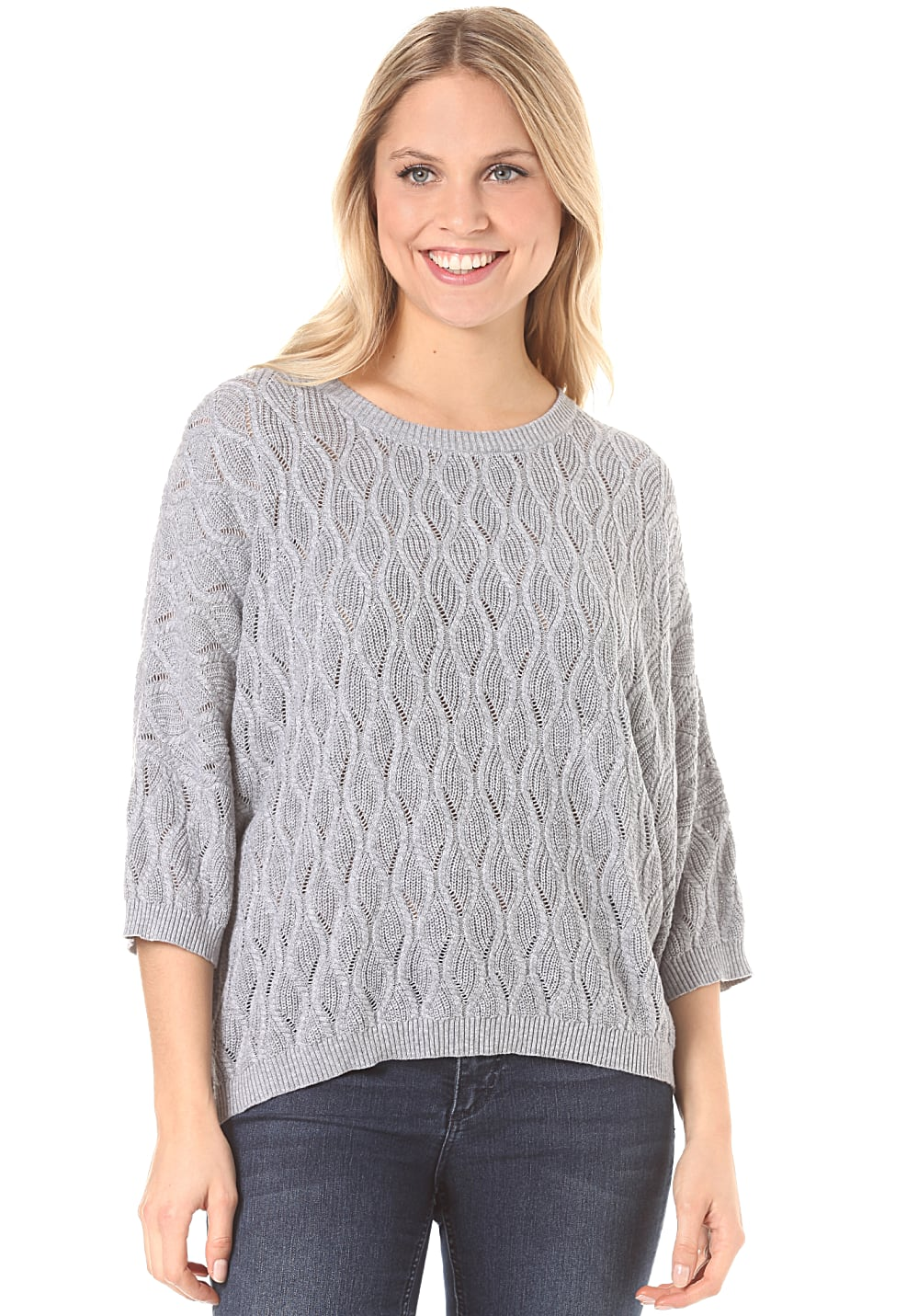 Element Relic - Strickpullover für Damen Grau