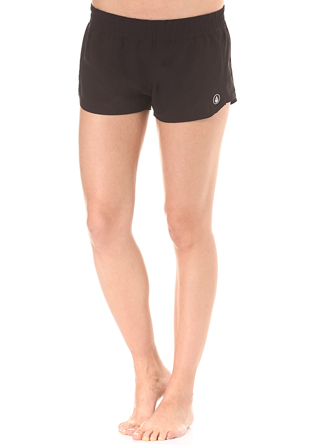 Bademode - Volcom Simply Solid 2 Boardshorts für Damen Schwarz  - Onlineshop Planet Sports