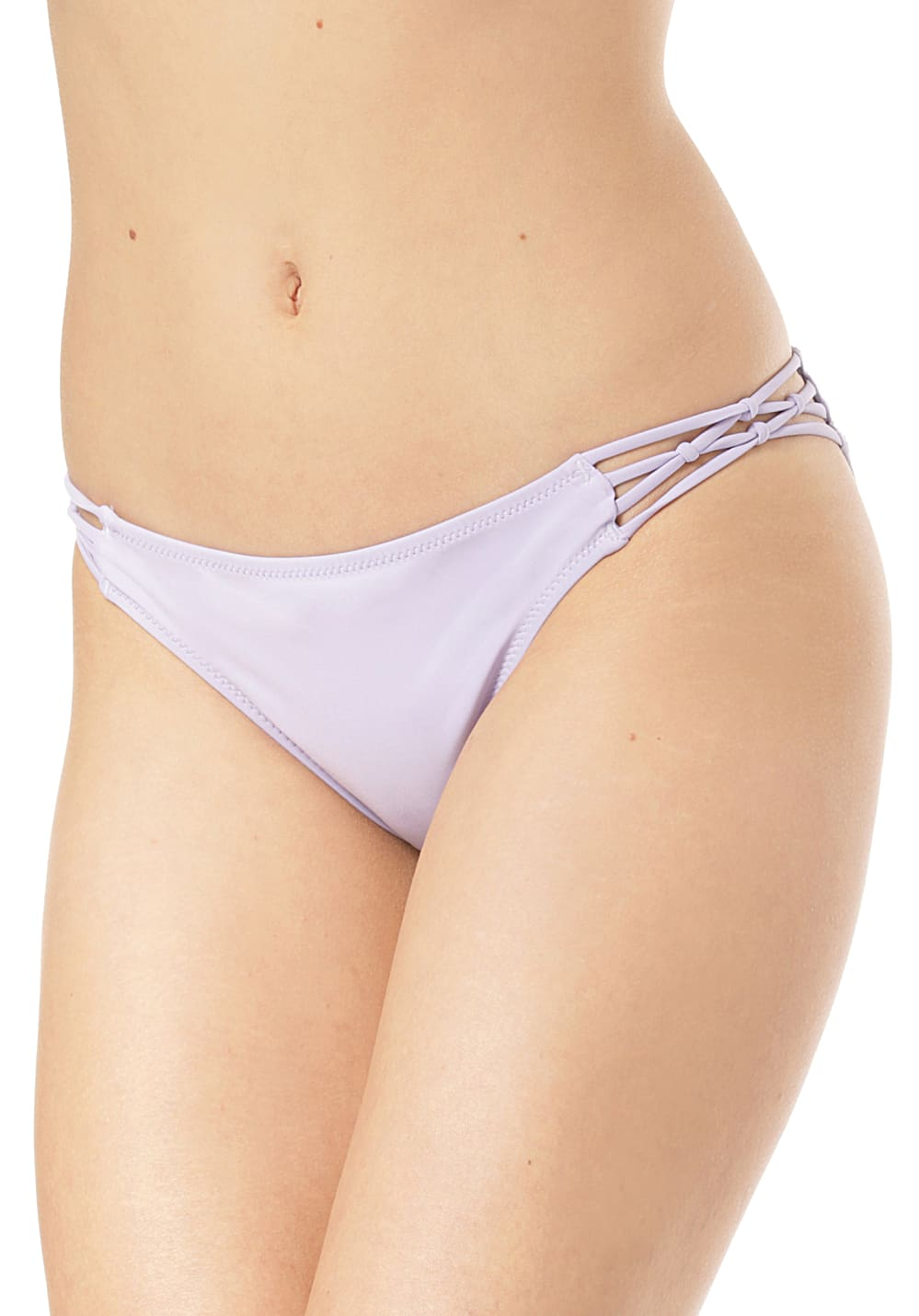 Bademode - Volcom Simply Solid Full Bikini Hose für Damen Lila  - Onlineshop Planet Sports