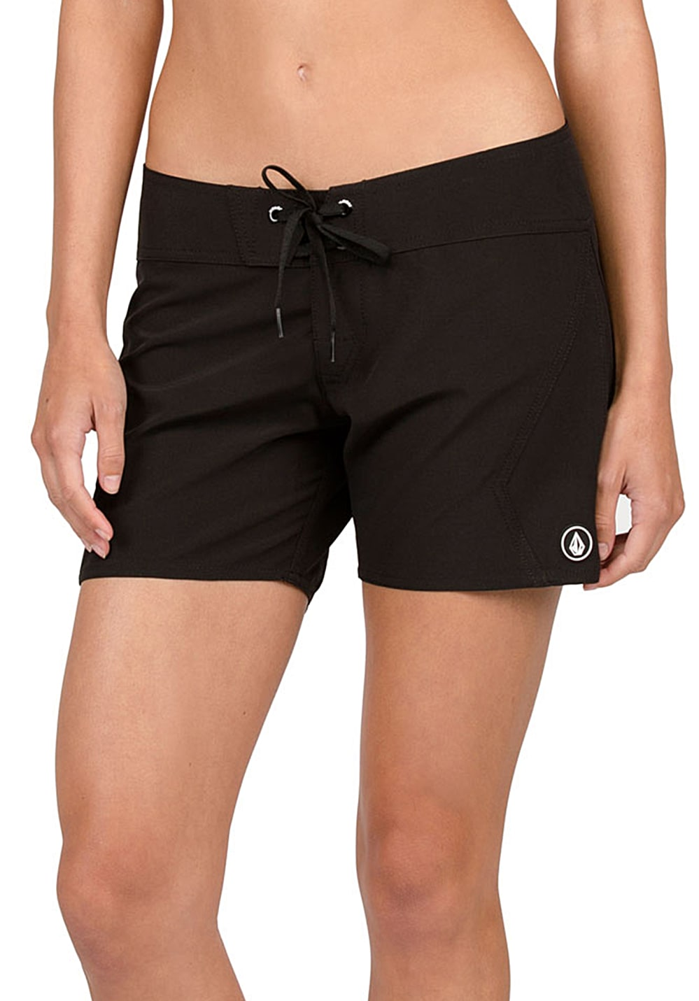 Bademode - Volcom Simply Solid 5 Boardshorts für Damen Schwarz  - Onlineshop Planet Sports