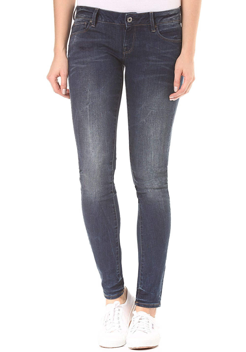 G-STAR RAW 3301 Low Skinny - Jeans für Damen - Blau
