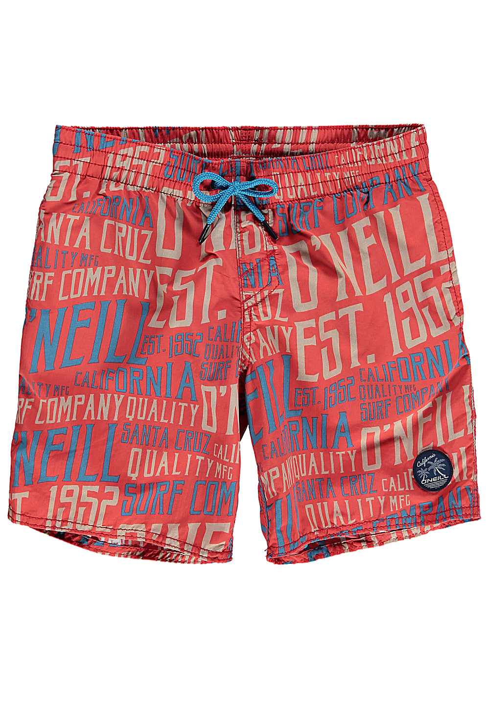 O'Neill Stack Boardshorts für Jungs Rot
