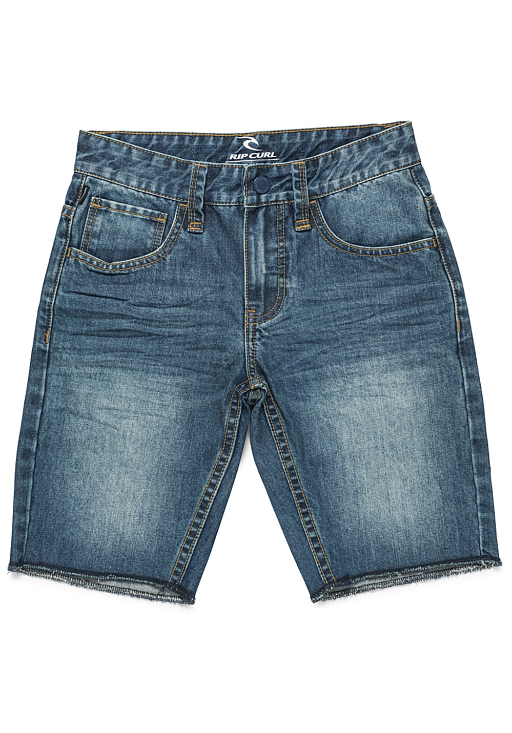Rip Curl 5 Pocket Denim Shorts - Blau