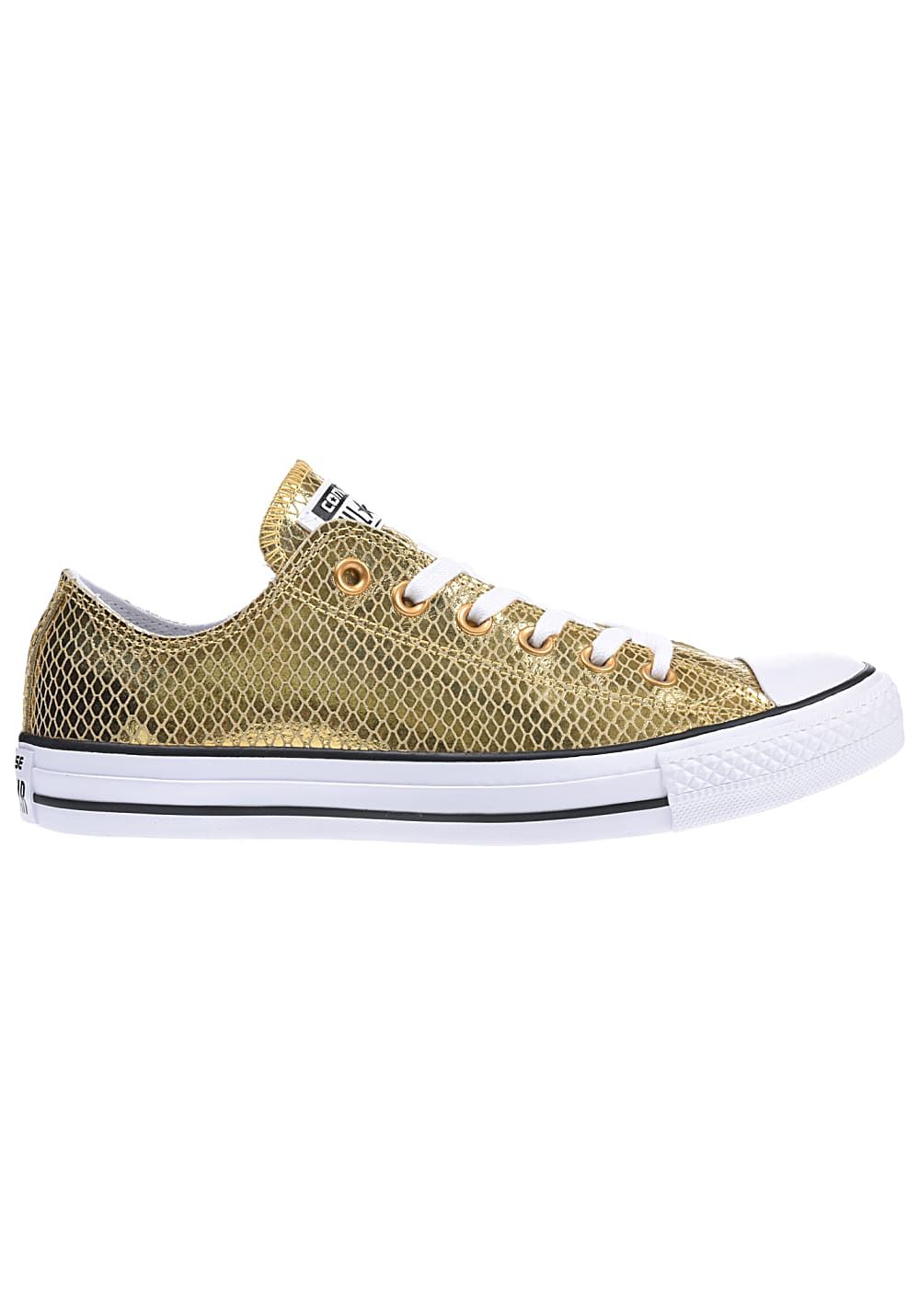Converse Chuck Taylor All Star Ox Sneaker für Damen Gold