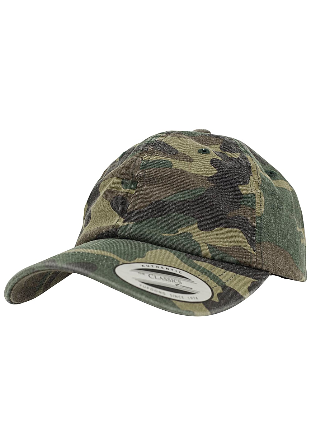 Flexfit Low Profile Camo Washed Flexfit Cap - Camouflage - OneSize