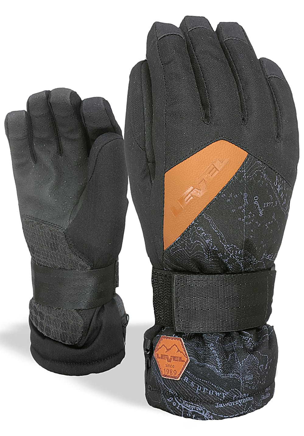 Boysaccessoires - Level Rocky Snowboard Handschuhe Schwarz - Onlineshop Planet Sports