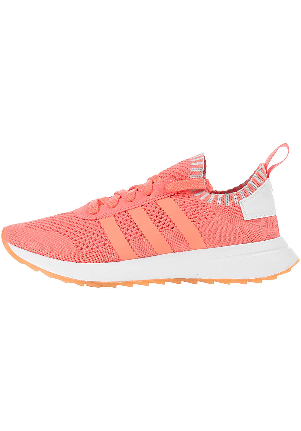 Damen Für Sneaker Primeknit Flashback Adidas Originals Orange n0wPkO