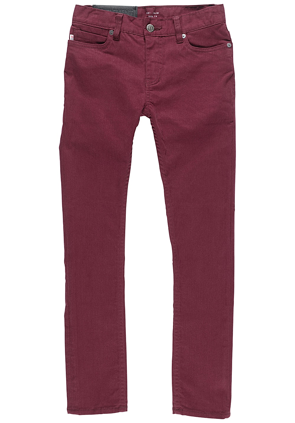 Element E01 Color Jeans für Jungs Rot