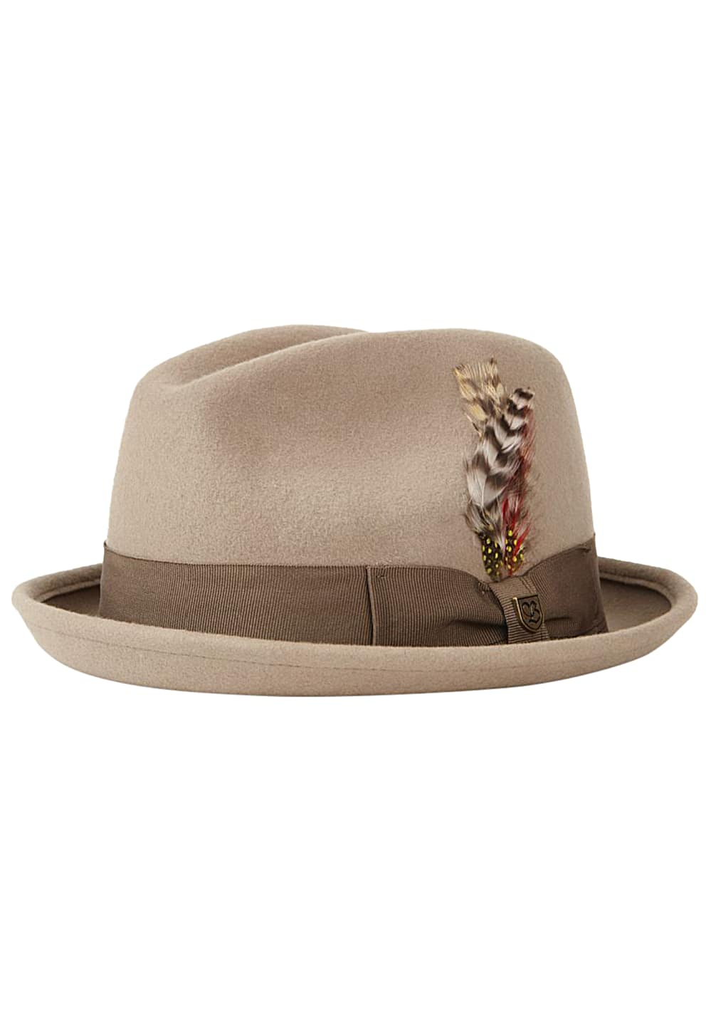 Muetzen für Frauen - Brixton Gain Fedora Hut Braun  - Onlineshop Planet Sports