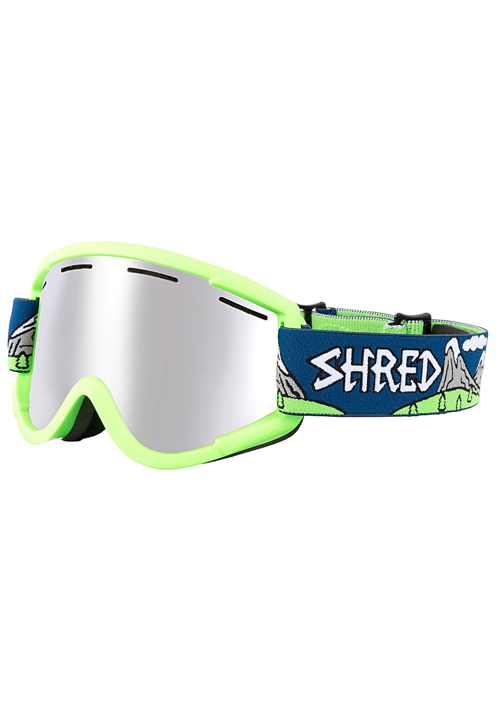 Shred Nastify Snowboardbrille - Grün