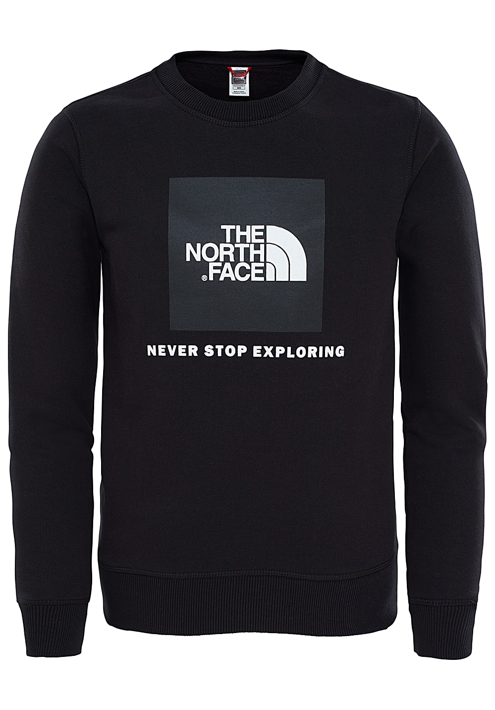 The North Face Box Crew Sweatshirt - Schwarz