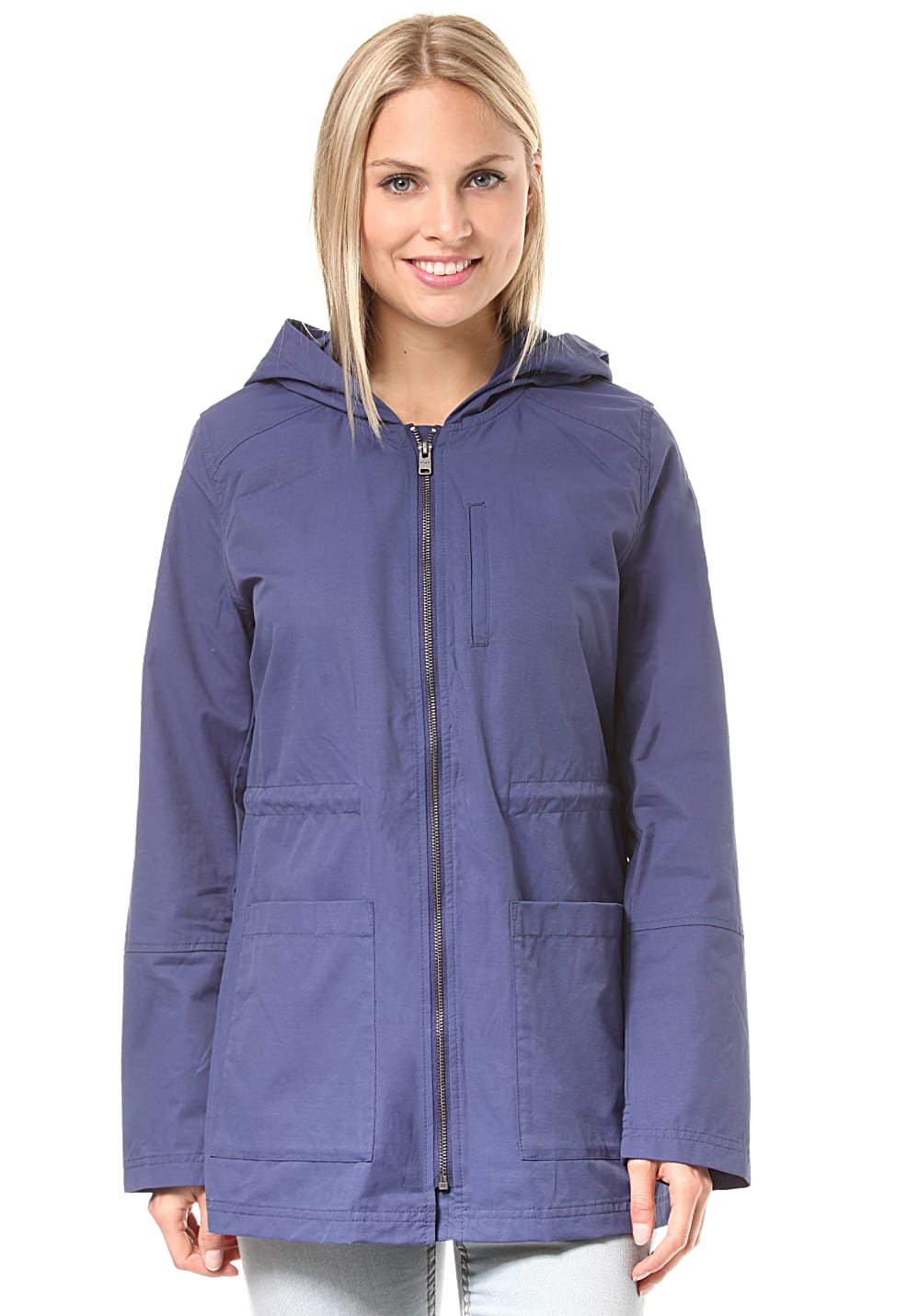 Jacken - Roxy Crazy Clouds Mantel für Damen Blau  - Onlineshop Planet Sports