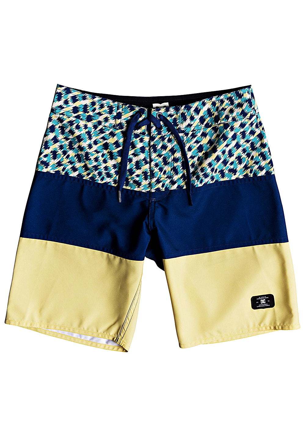 Boysbademode - DC Hot Blocked 16 Boardshorts für Jungs Blau - Onlineshop Planet Sports