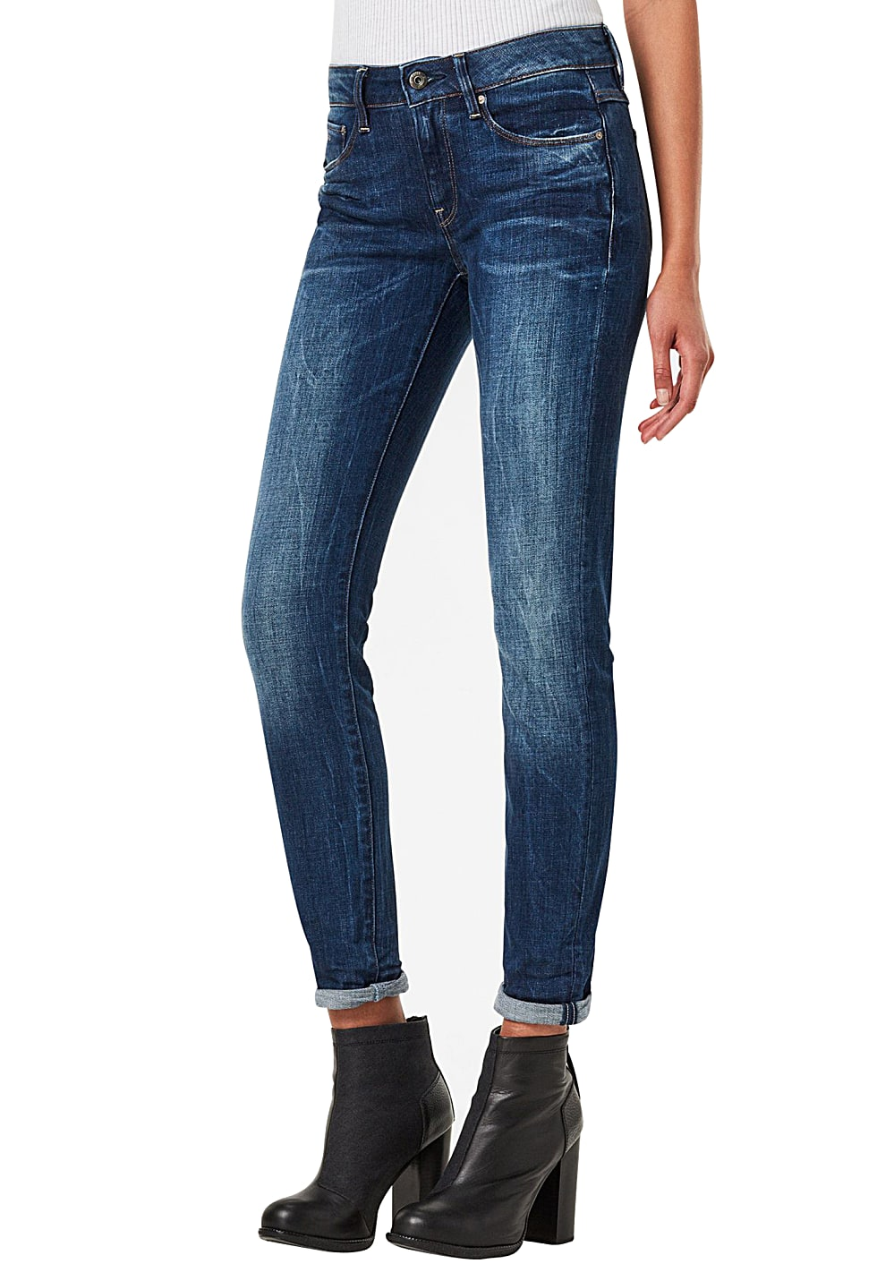 G-STAR RAW 3301 High Skinny - Jeans für Damen - Blau