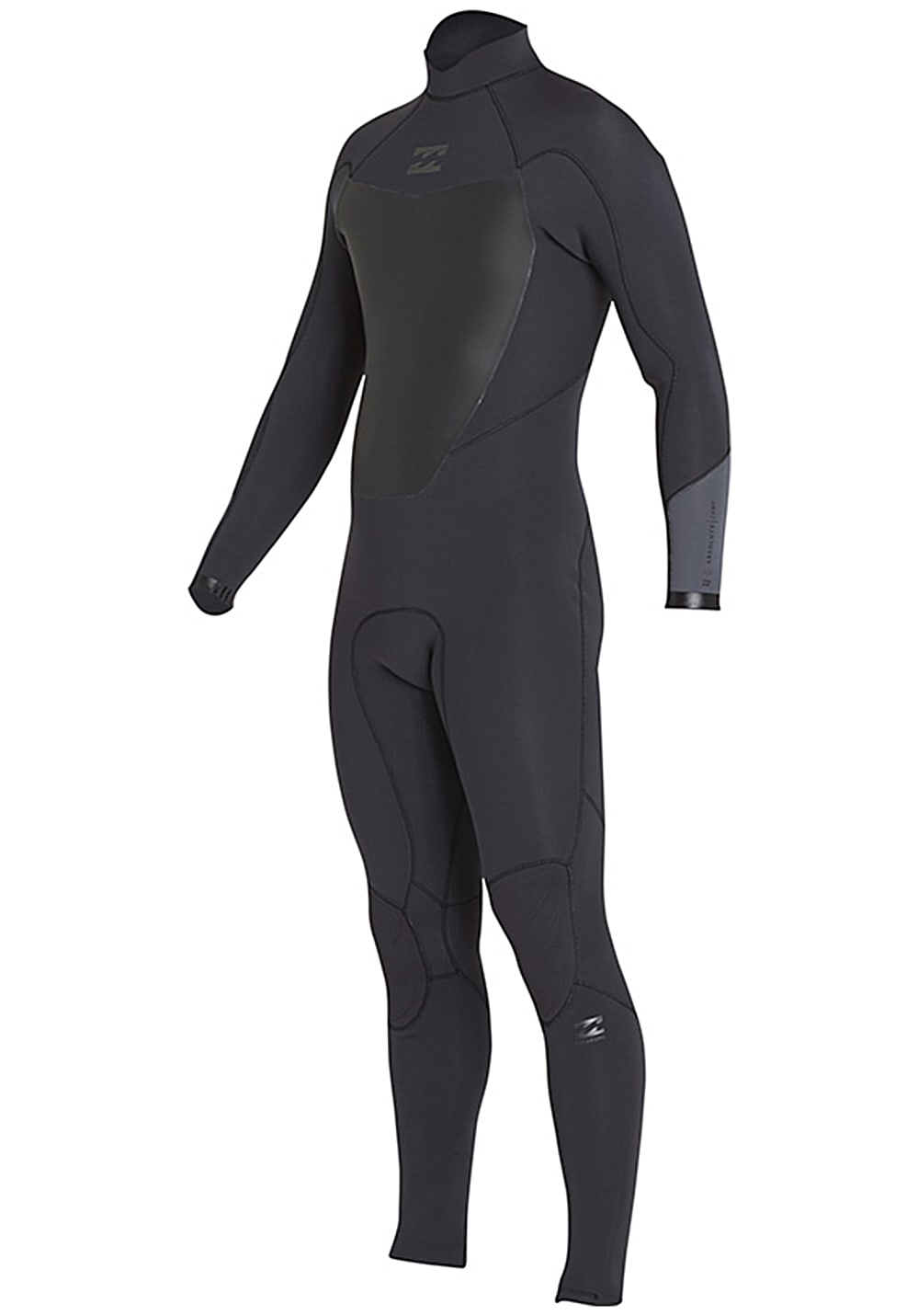 Billabong ABSolute Comp 3/2mm Back Zip FLT - Neoprenanzug für Herren Schwarz