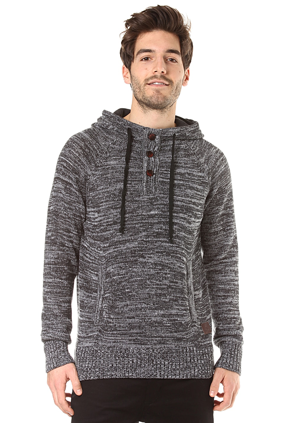 Light Knit Trail - Strickpullover für Herren Grau