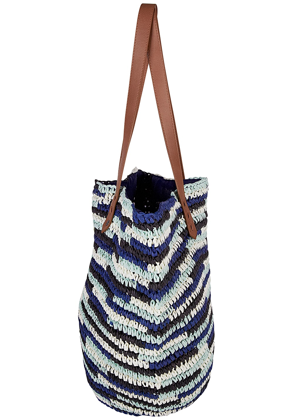 Chiemsee Straw Beach Bag - Tasche für Damen - Blau