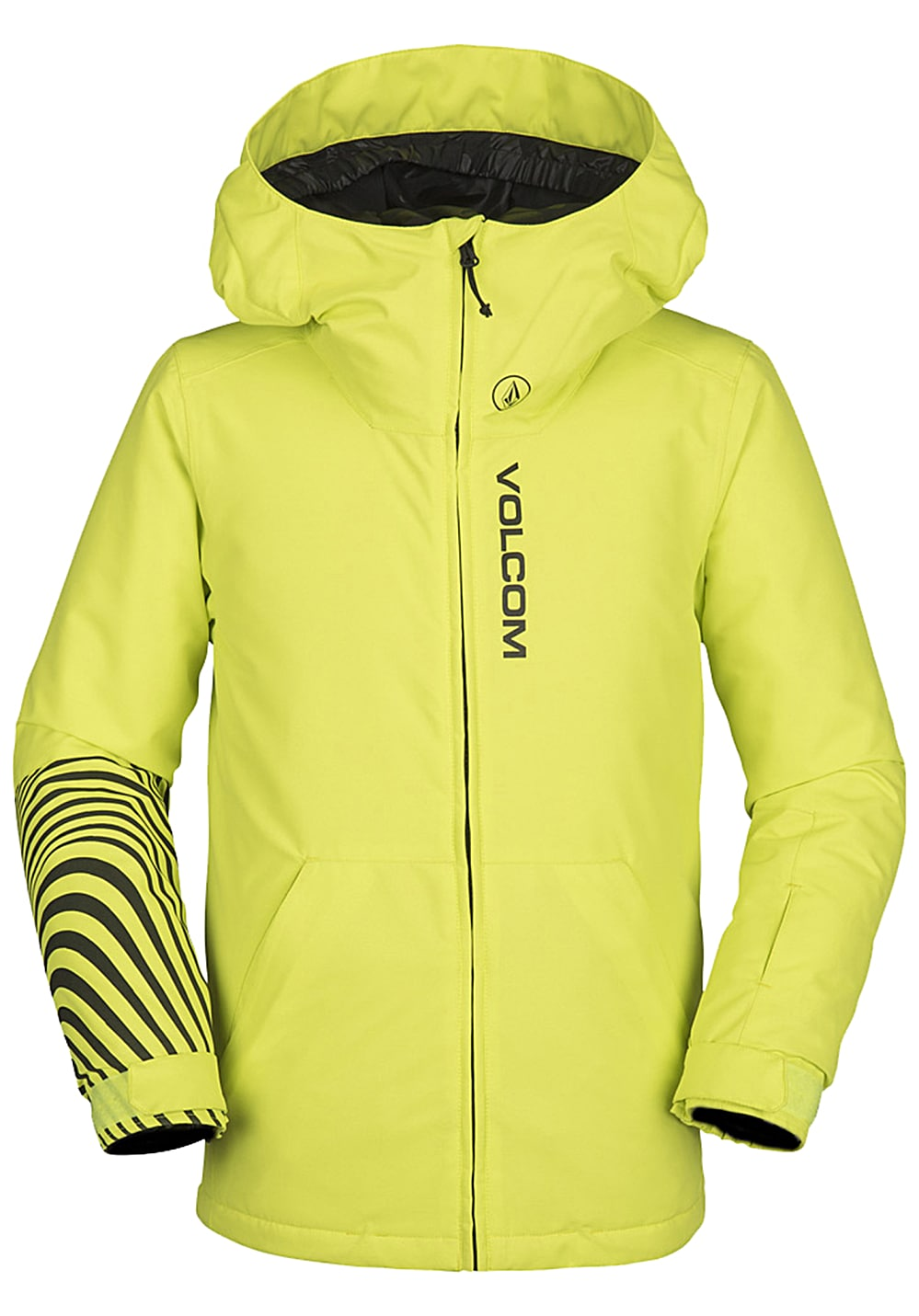 Boysregenwinter - Volcom Vernon Ins Snowboardjacke Gelb - Onlineshop Planet Sports