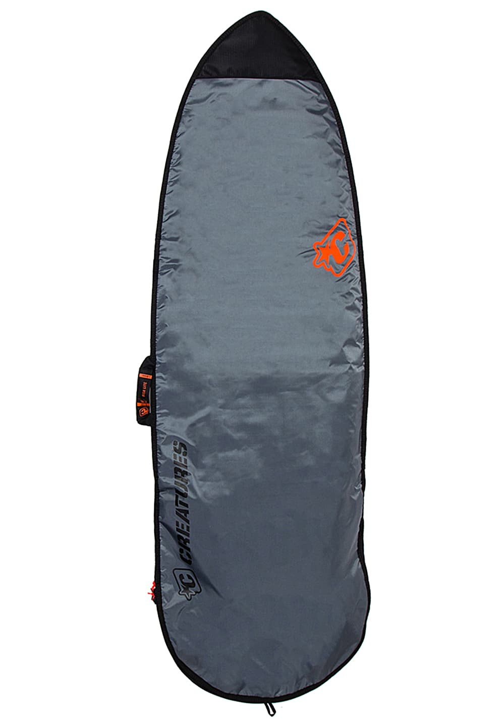 Creatures of Leisure Fish Lite Cover 7´1´´ Surfboardtasche - Grau