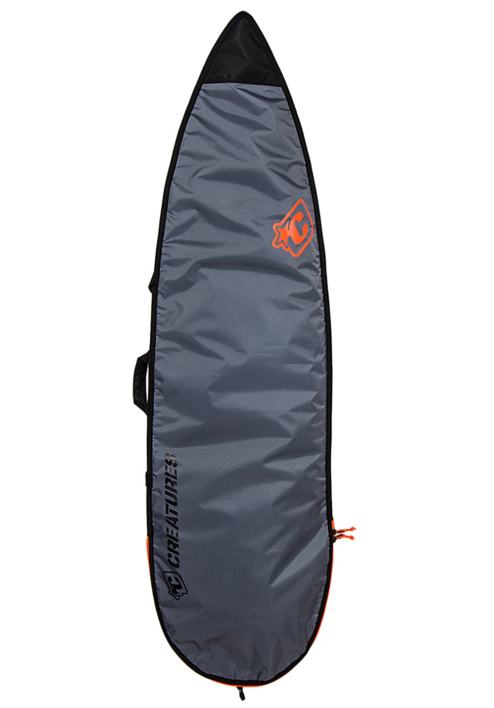 Creatures of Leisure Shortboard Lite Cover 5´8´´ Surfboardtasche - Grau