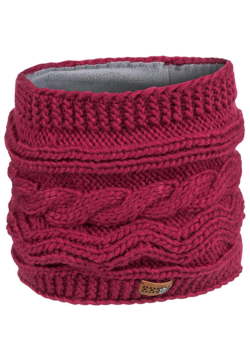 Schals für Frauen - Roxy Winter Collar Neckwarmer für Damen Rot  - Onlineshop Planet Sports