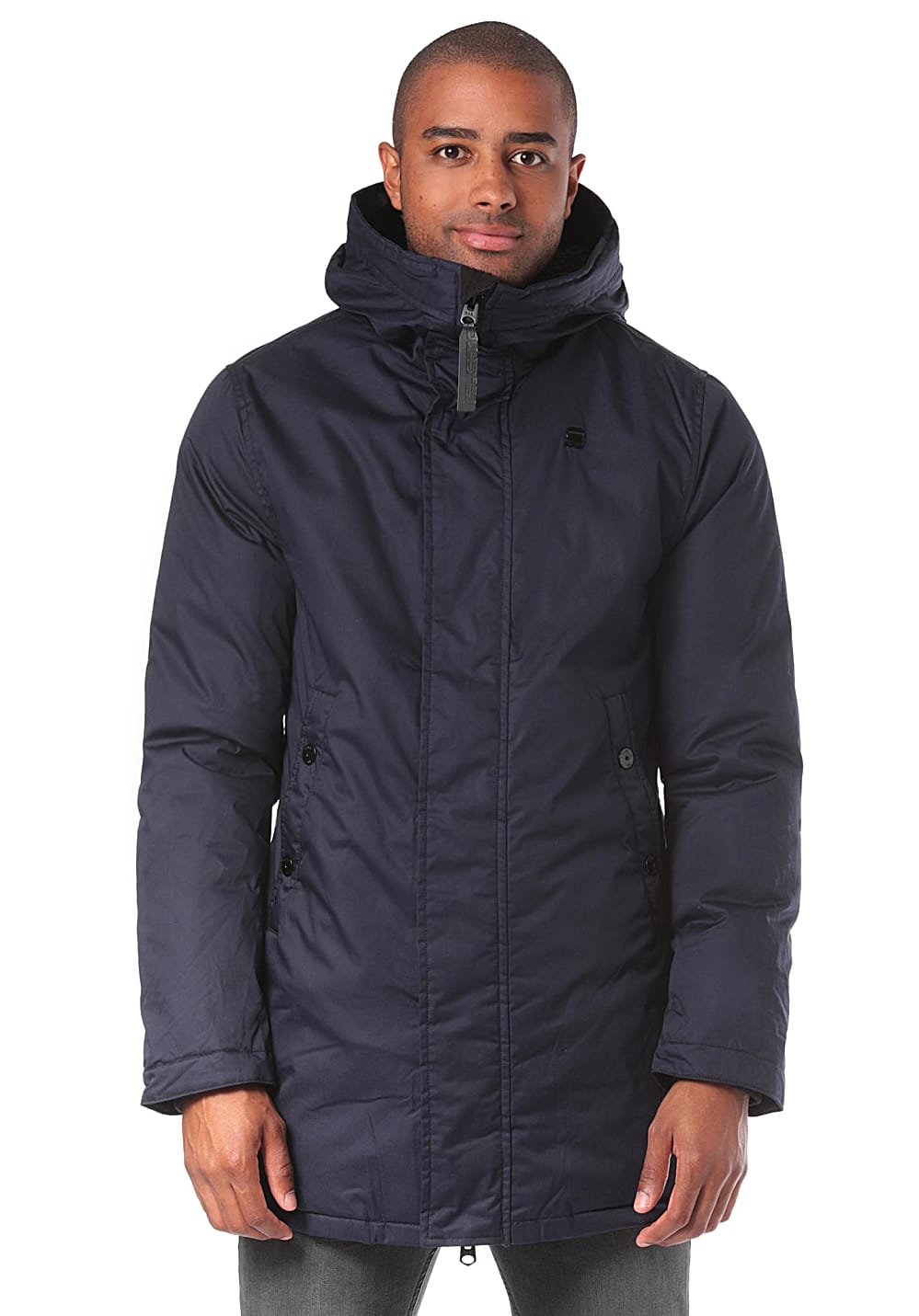 G-STAR RAW Whistler Strett Teddy - Mantel für Herren Blau