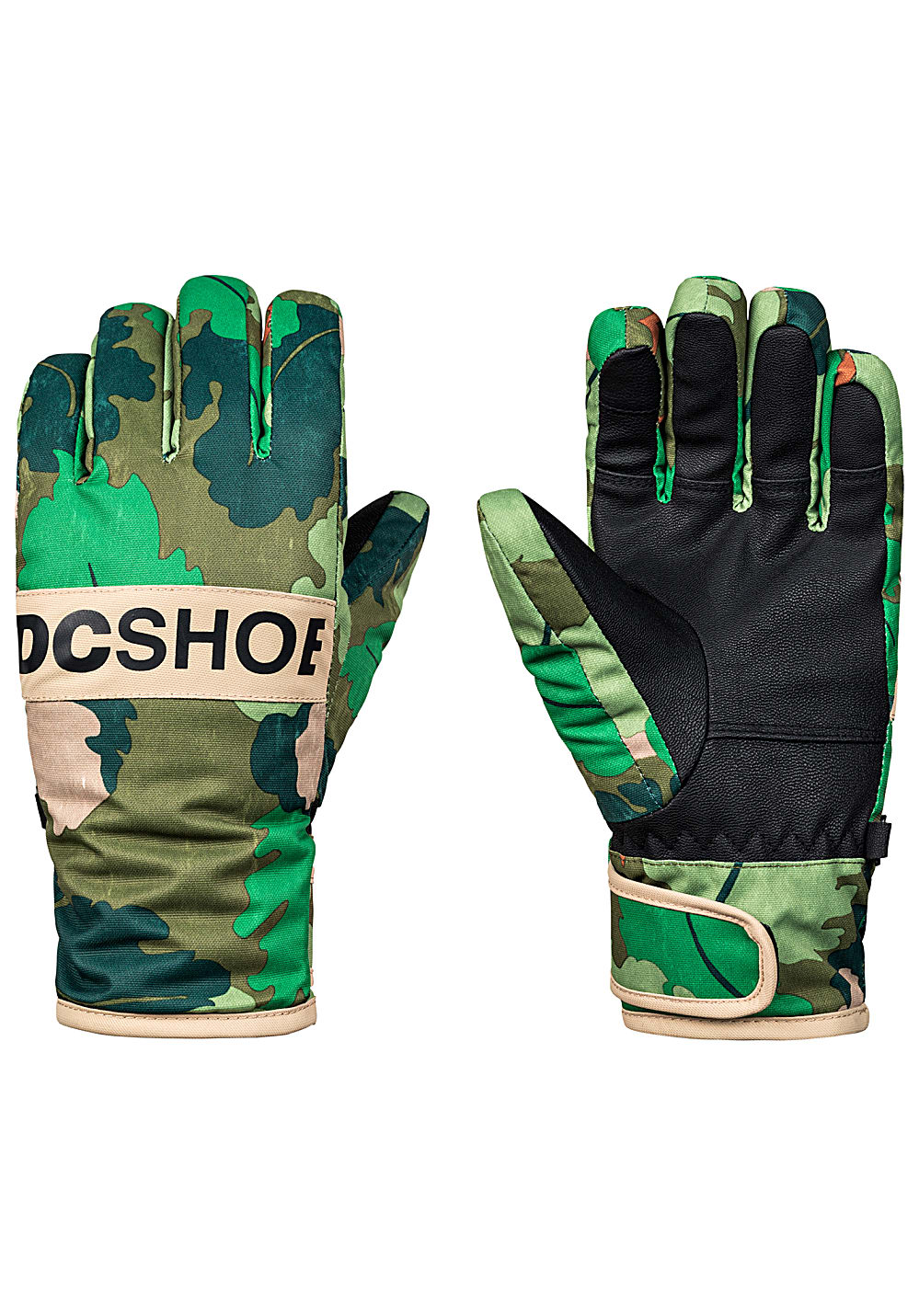 DC Franchise Snowboard Handschuhe - Camouflage