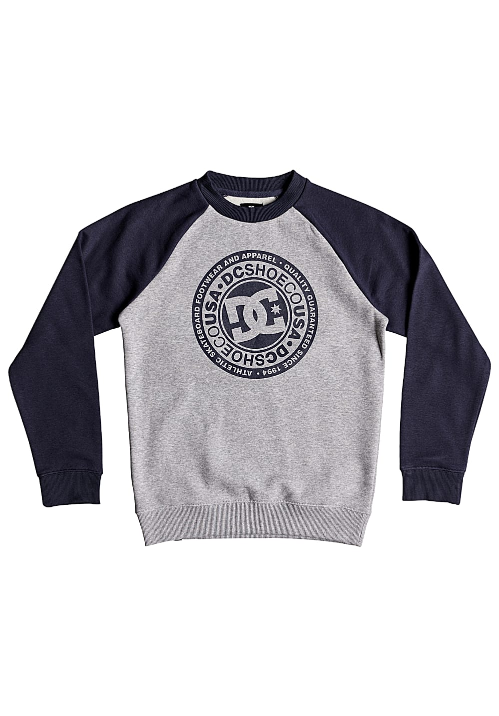Boysoberteile - DC Circle Star Crew Sweatshirt für Jungs Mehrfarbig - Onlineshop Planet Sports
