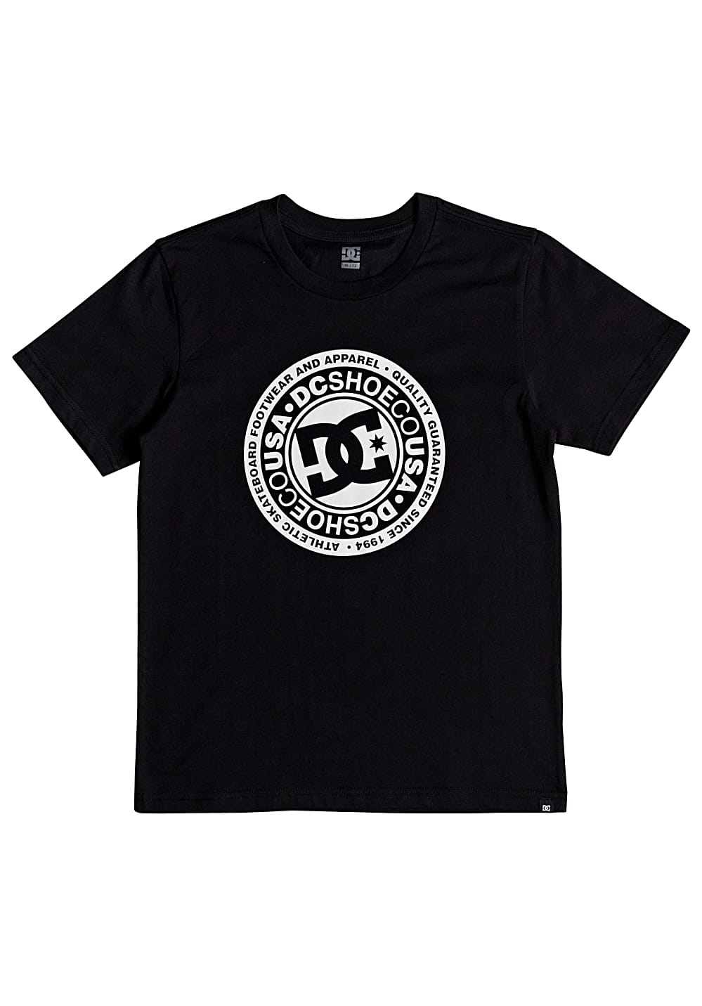 Boysoberteile - DC Circle Star T-Shirt für Jungs Schwarz - Onlineshop Planet Sports