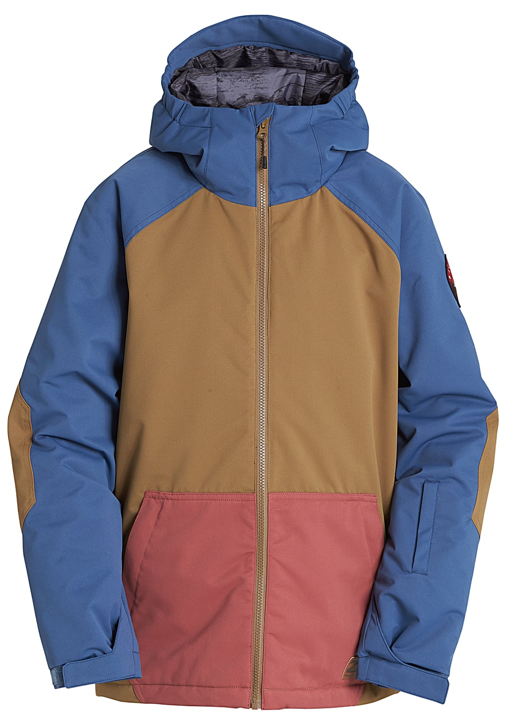 Boysregenwinter - BILLABONG All Day Snowboardjacke für Jungs Braun - Onlineshop Planet Sports