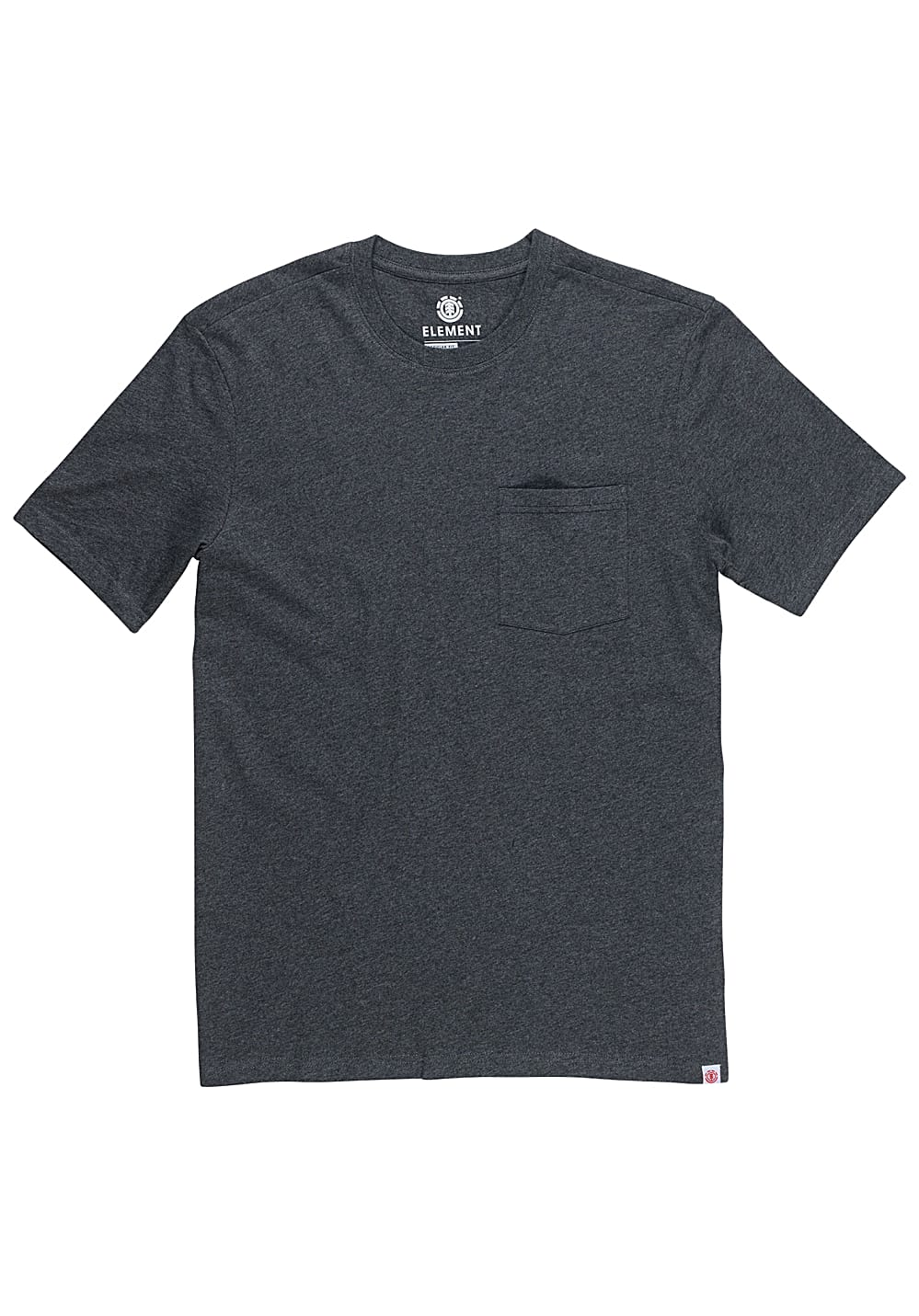 Element Basic Pocket Crew - T-Shirt für Herren Grau