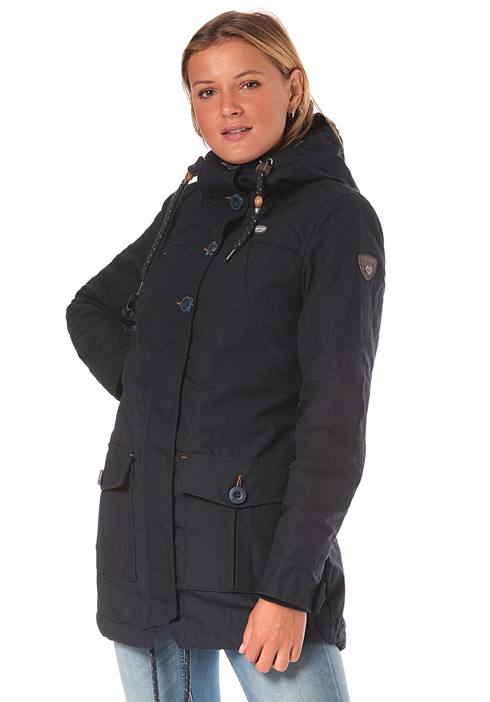Jacken - ragwear Jane Jacke für Damen Blau  - Onlineshop Planet Sports