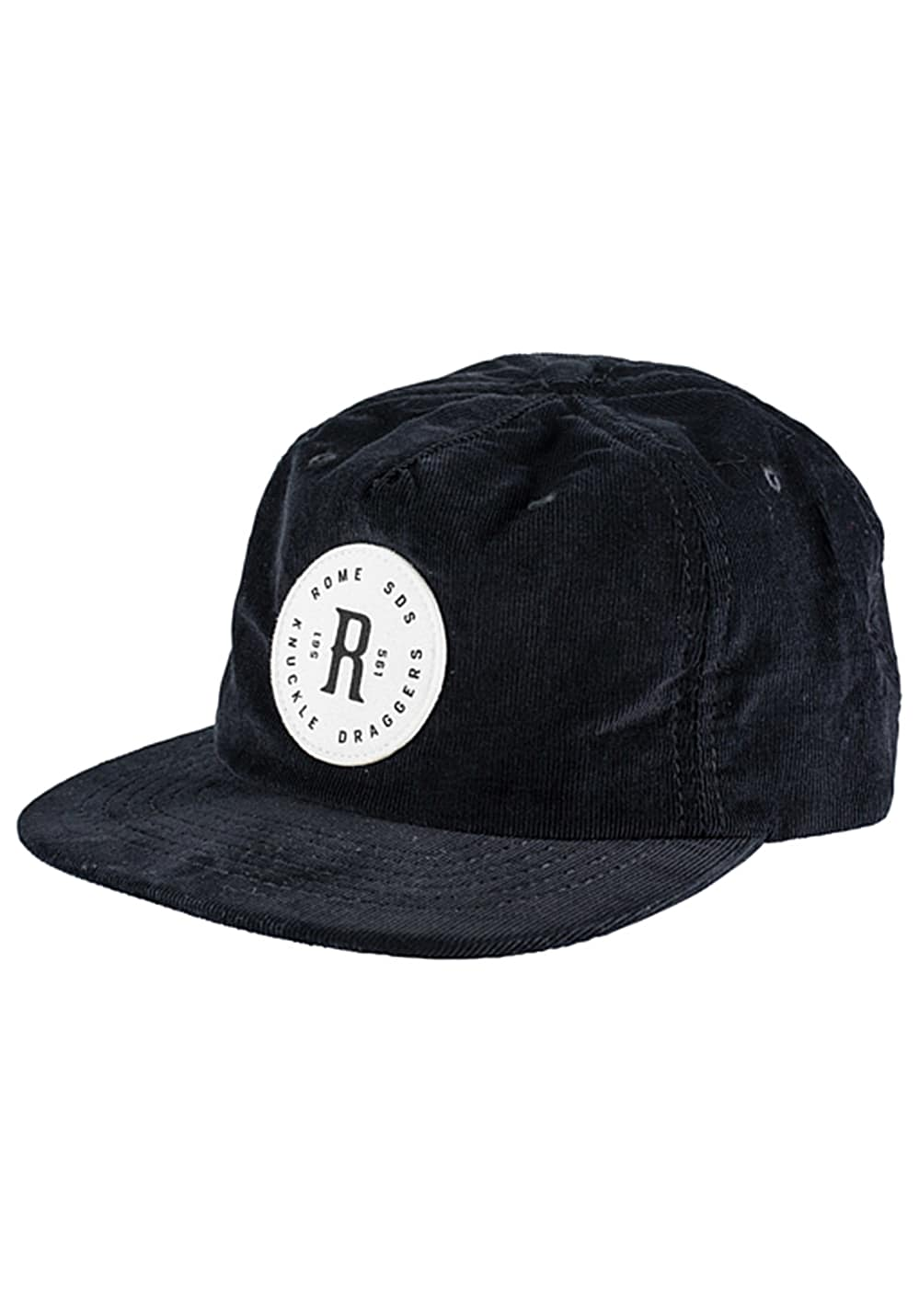 Rome Authentic Snapback Cap - Schwarz