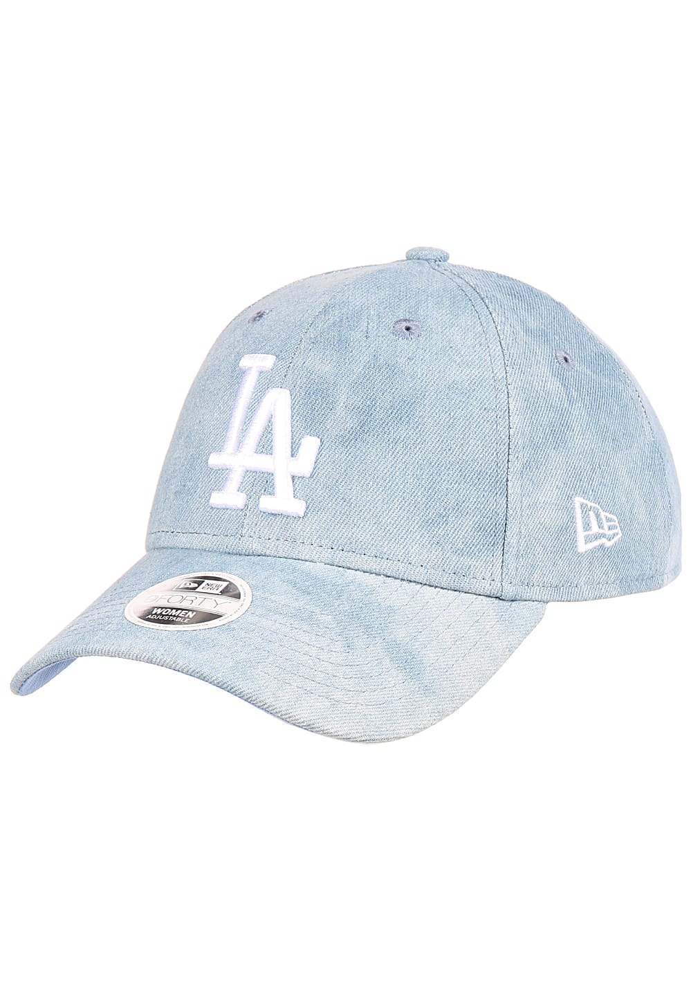 Muetzen für Frauen - NEW Era 9Forty Tie Dye Los Angeles Dodgers Cap für Damen Blau  - Onlineshop Planet Sports