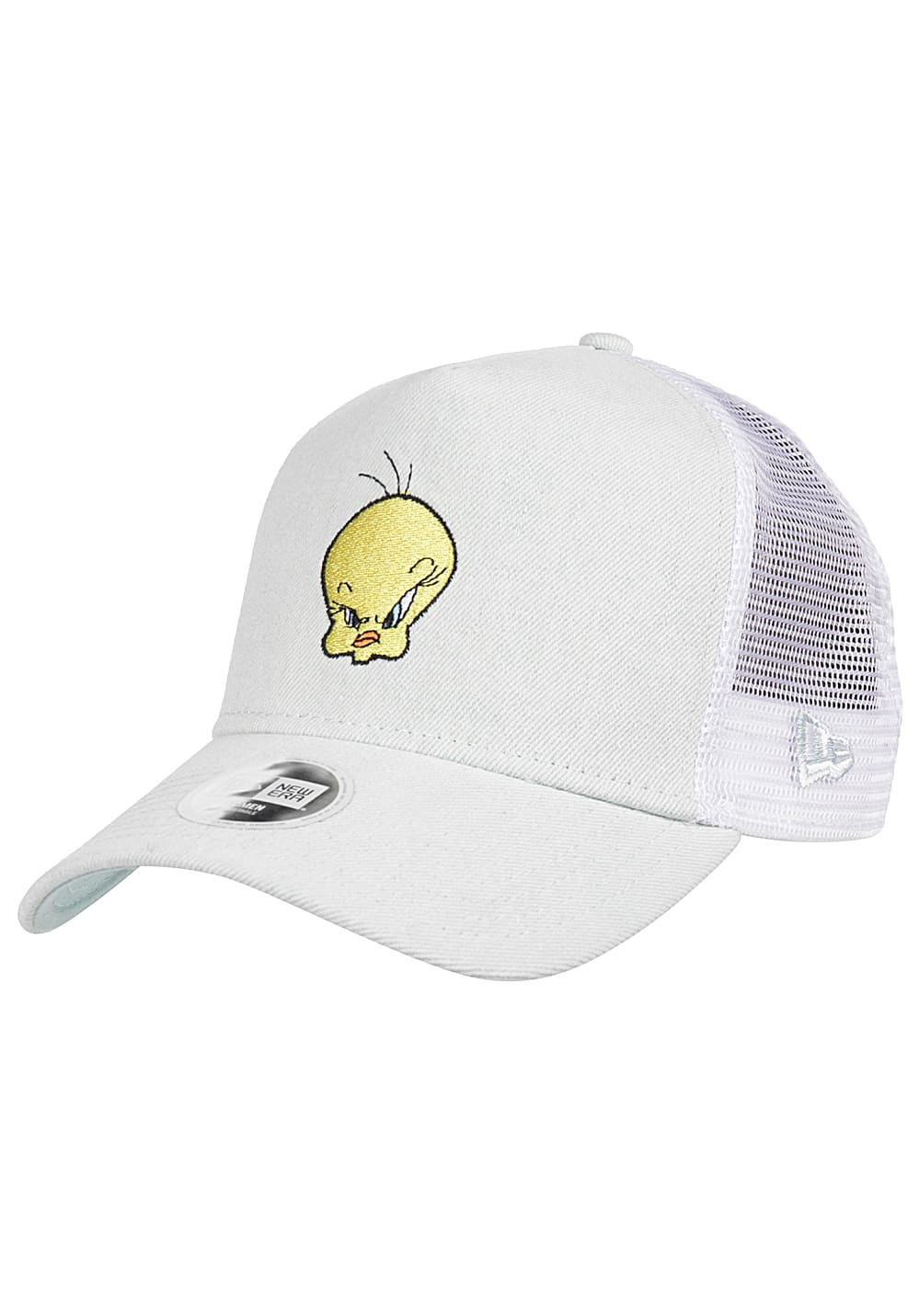 new era tweety bird trucker cap f r damen bla lightning. Black Bedroom Furniture Sets. Home Design Ideas