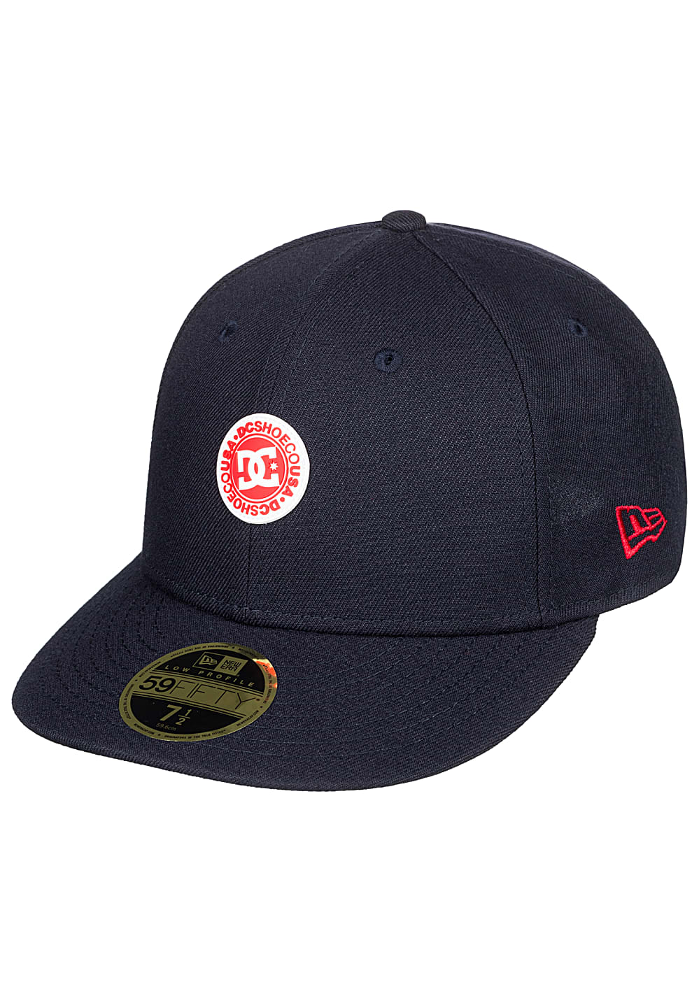 DC Rally Up Fitted Cap - Blau   Accessoires > Caps > Fitted Caps   DC