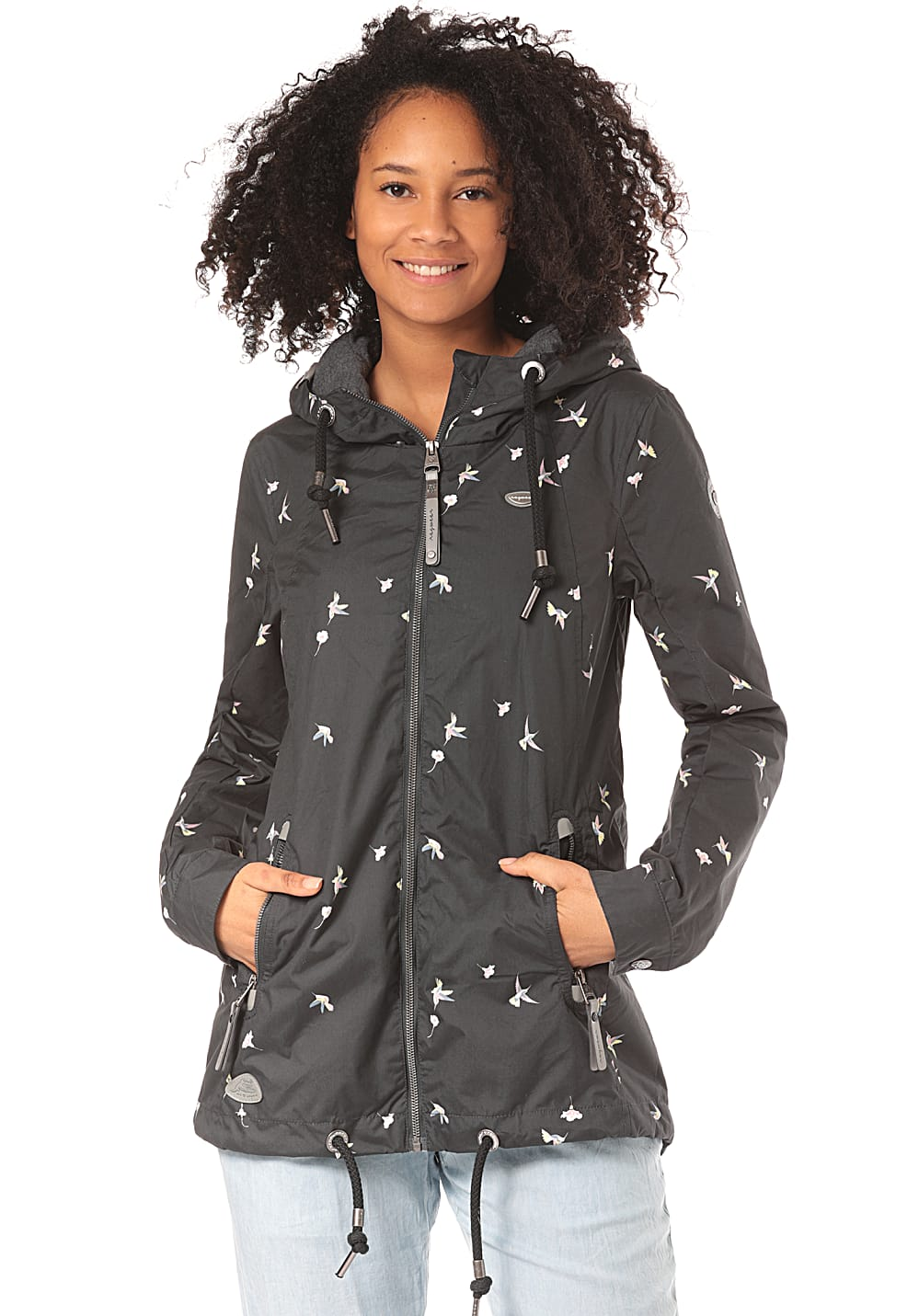 Jacken - ragwear Zuzka Jacke für Damen Grau  - Onlineshop Planet Sports