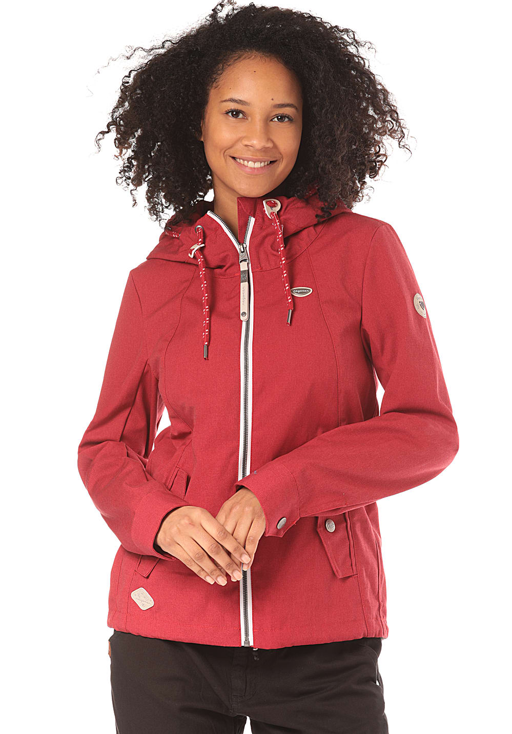 Jacken - ragwear Monade Jacke für Damen Rot  - Onlineshop Planet Sports