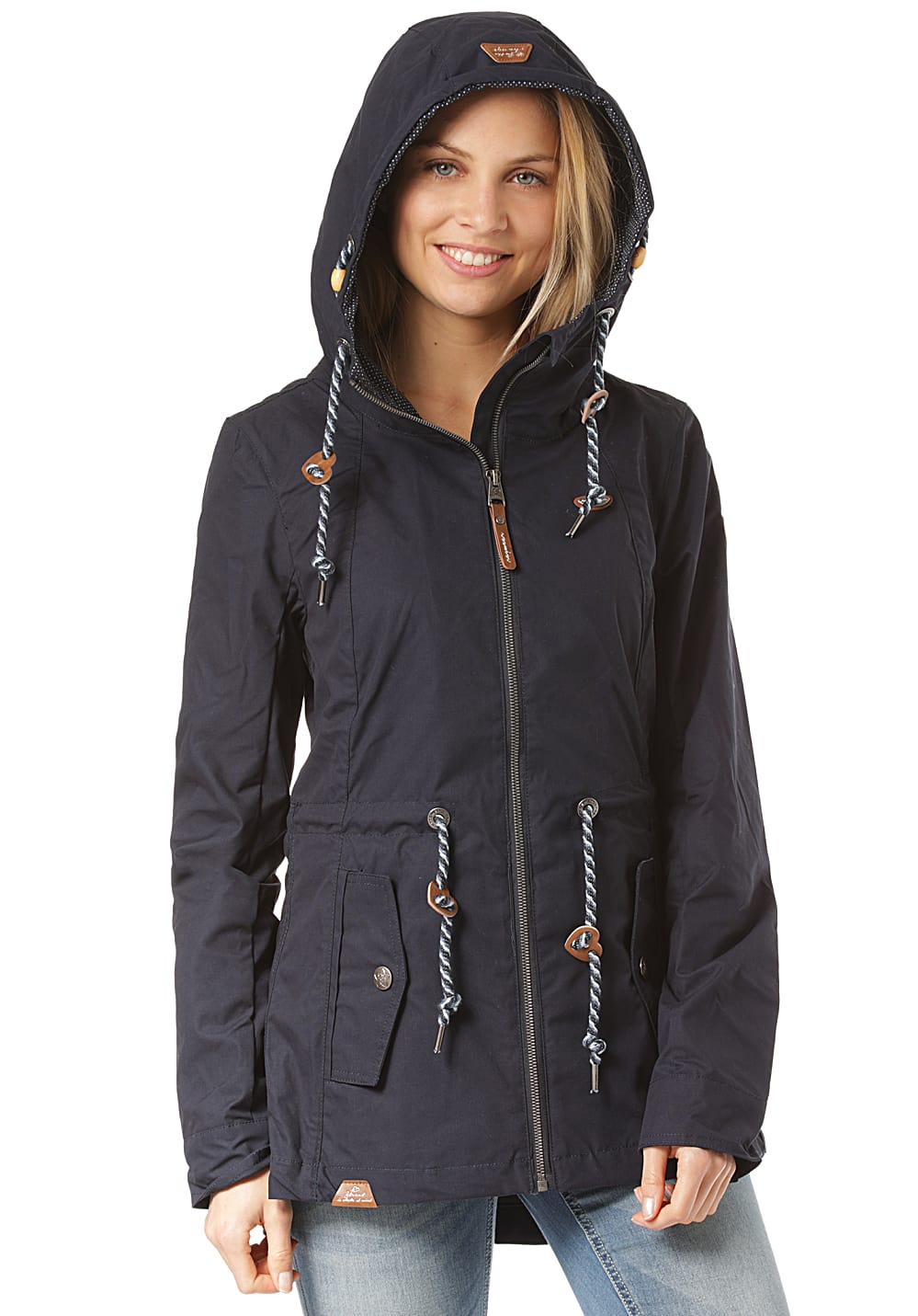 Jacken - ragwear Monadis Jacke für Damen Blau  - Onlineshop Planet Sports