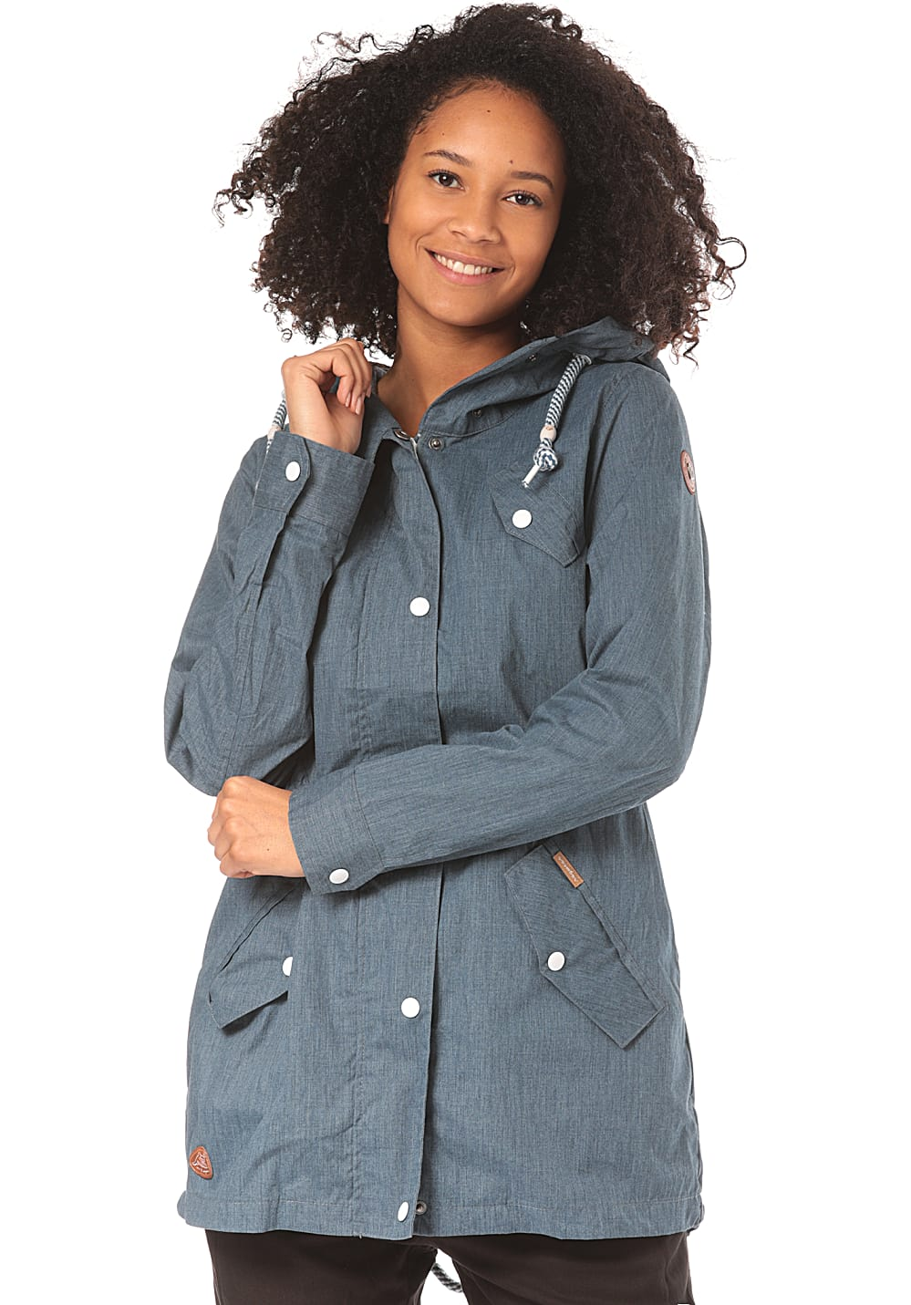 Jacken - ragwear Cranchy Jacke für Damen Blau  - Onlineshop Planet Sports