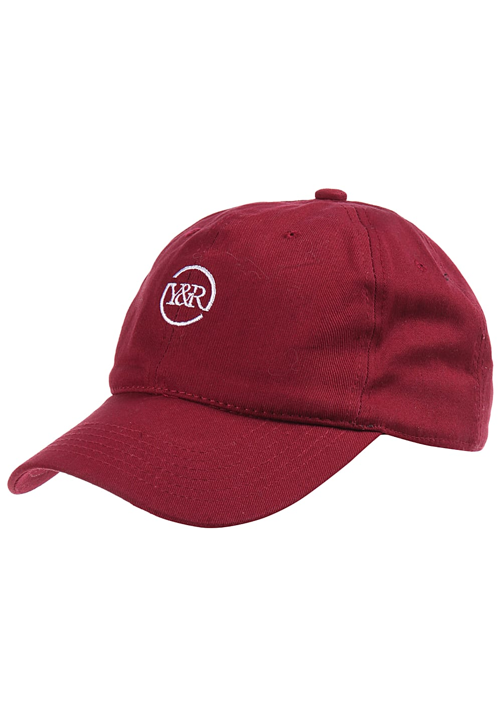 Young and Reckless Trademark Loop Strapback Cap - Rot | Accessoires > Schals & Tücher > Loops | Young and Reckless