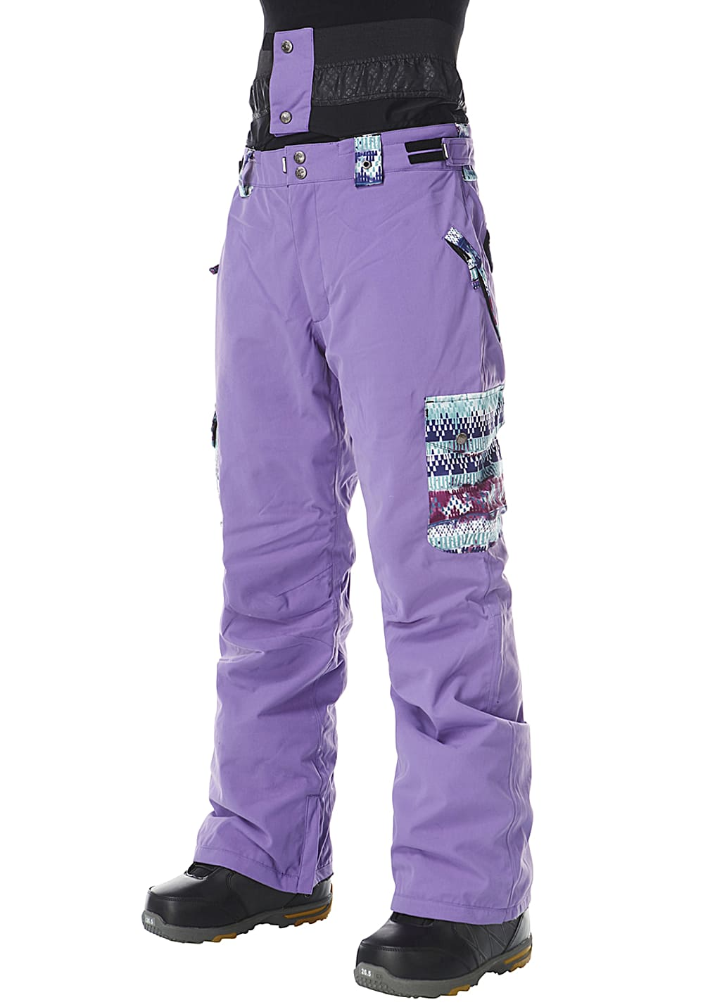 Hosen - Light Swing Evo Snowboardhose für Damen Lila  - Onlineshop Planet Sports