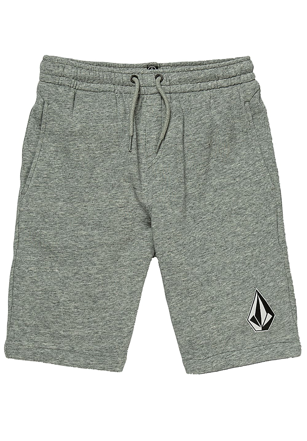 Boyshosen - Volcom Deadly Stns Flc Sht Shorts Grau - Onlineshop Planet Sports